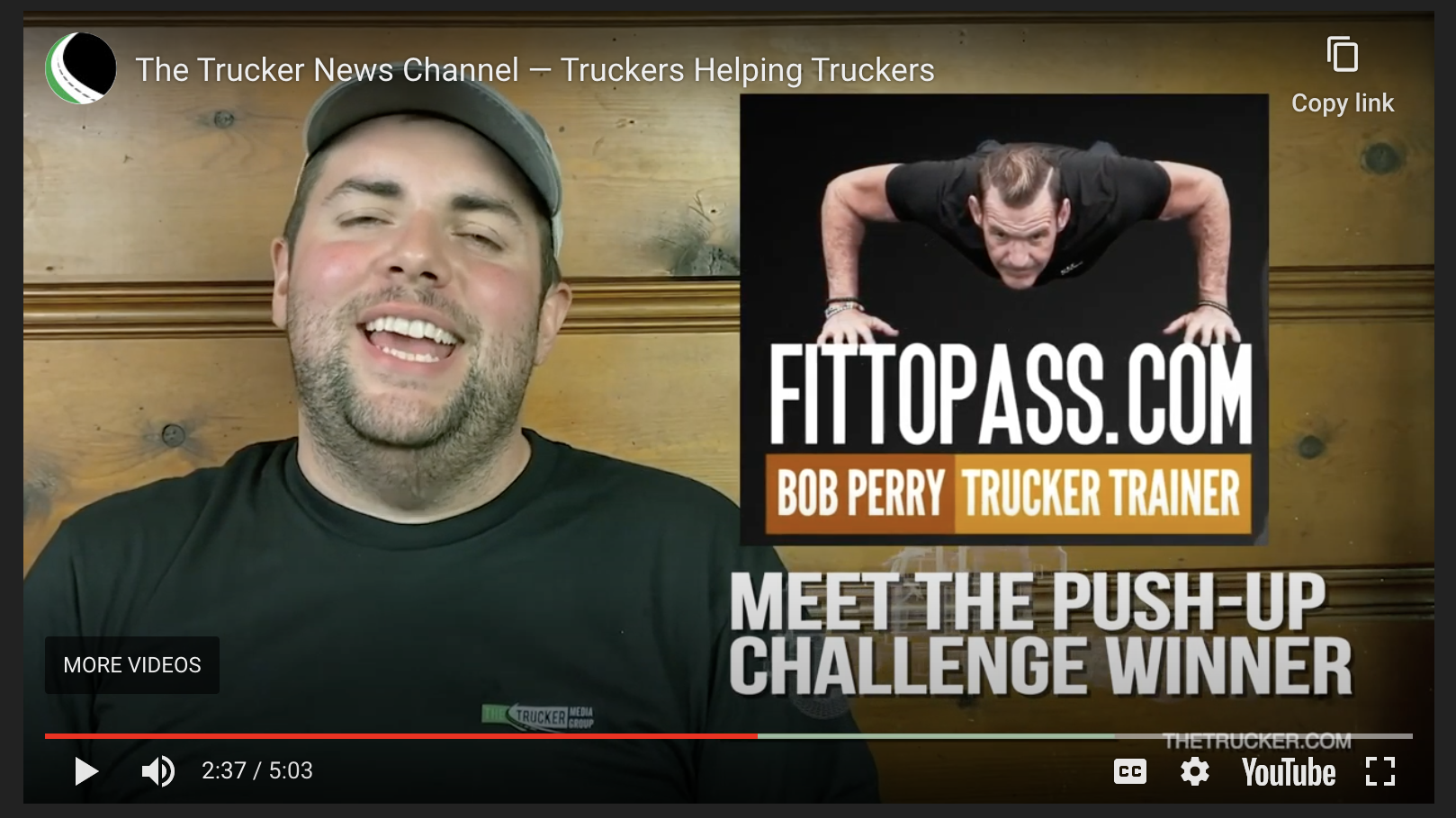 Meet the Fittest Driver Contest Push-up Winners