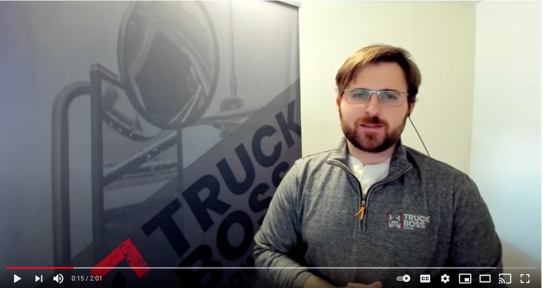 Steering Your Way to Better Health Contest on the Truck Boss Show