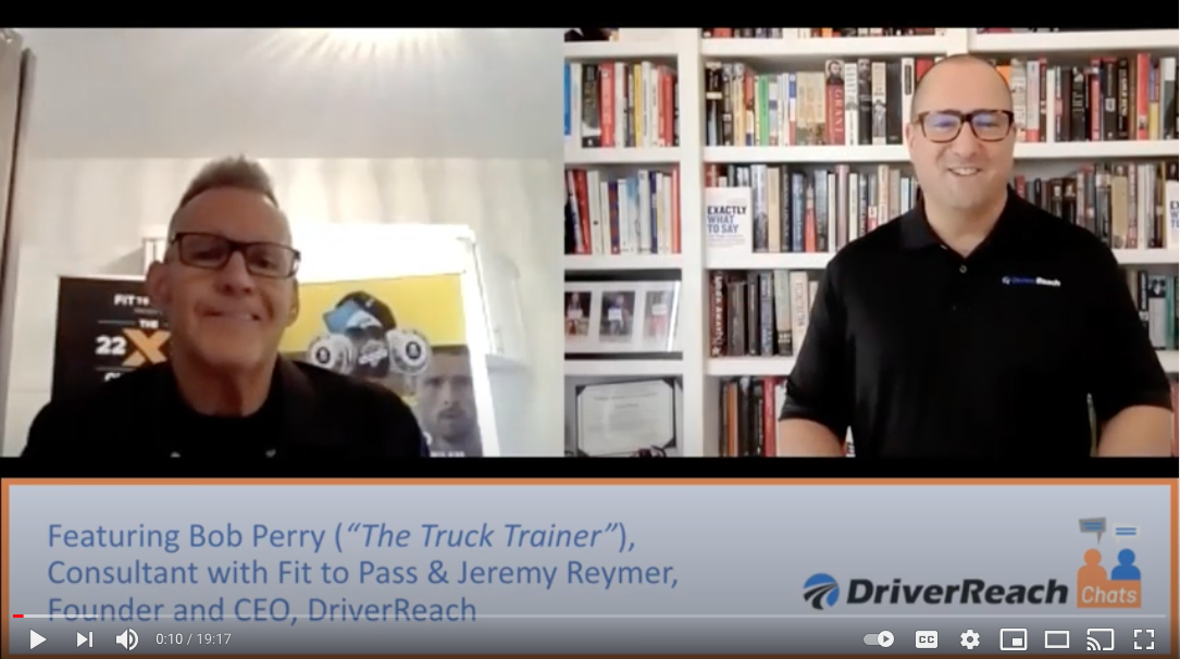 Bob Perry on DriverReach Chats
